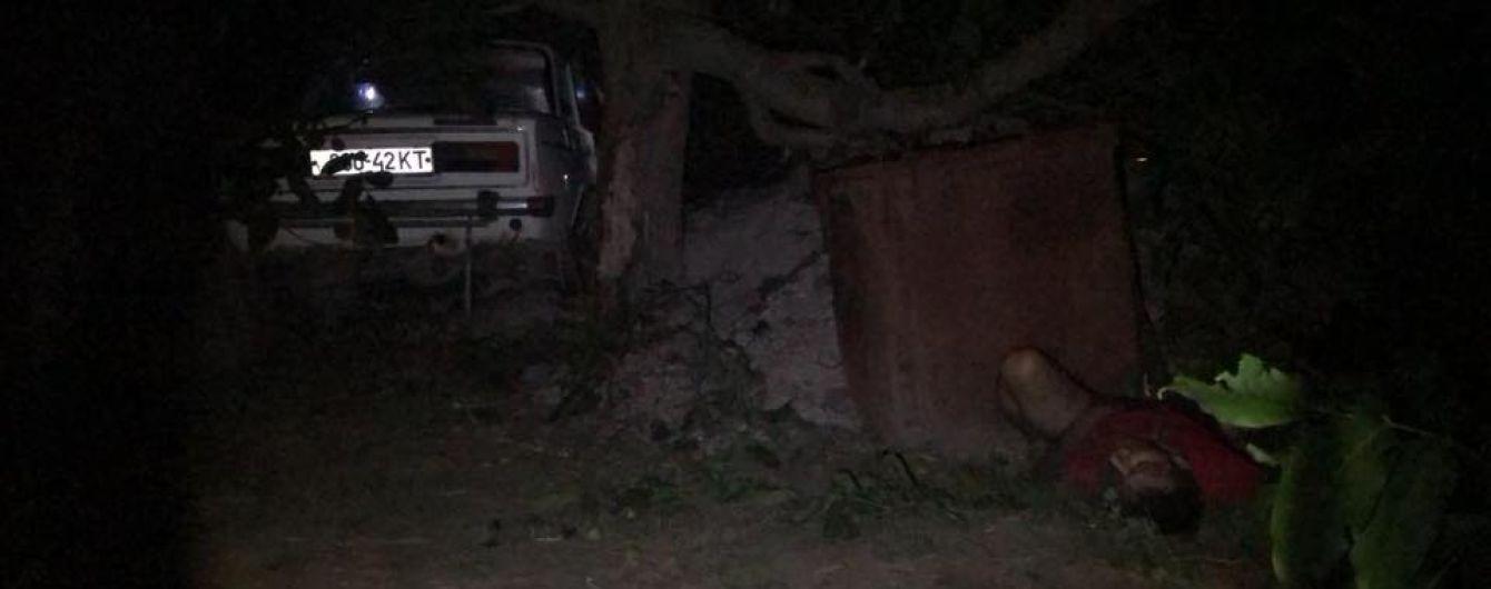 На Херсонщине пьяный военный комиссар за рулем сбил насмерть супругов