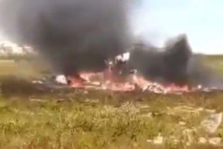 З'явилося відео з перших хвилин після падіння вертольота Мі-8 у РФ