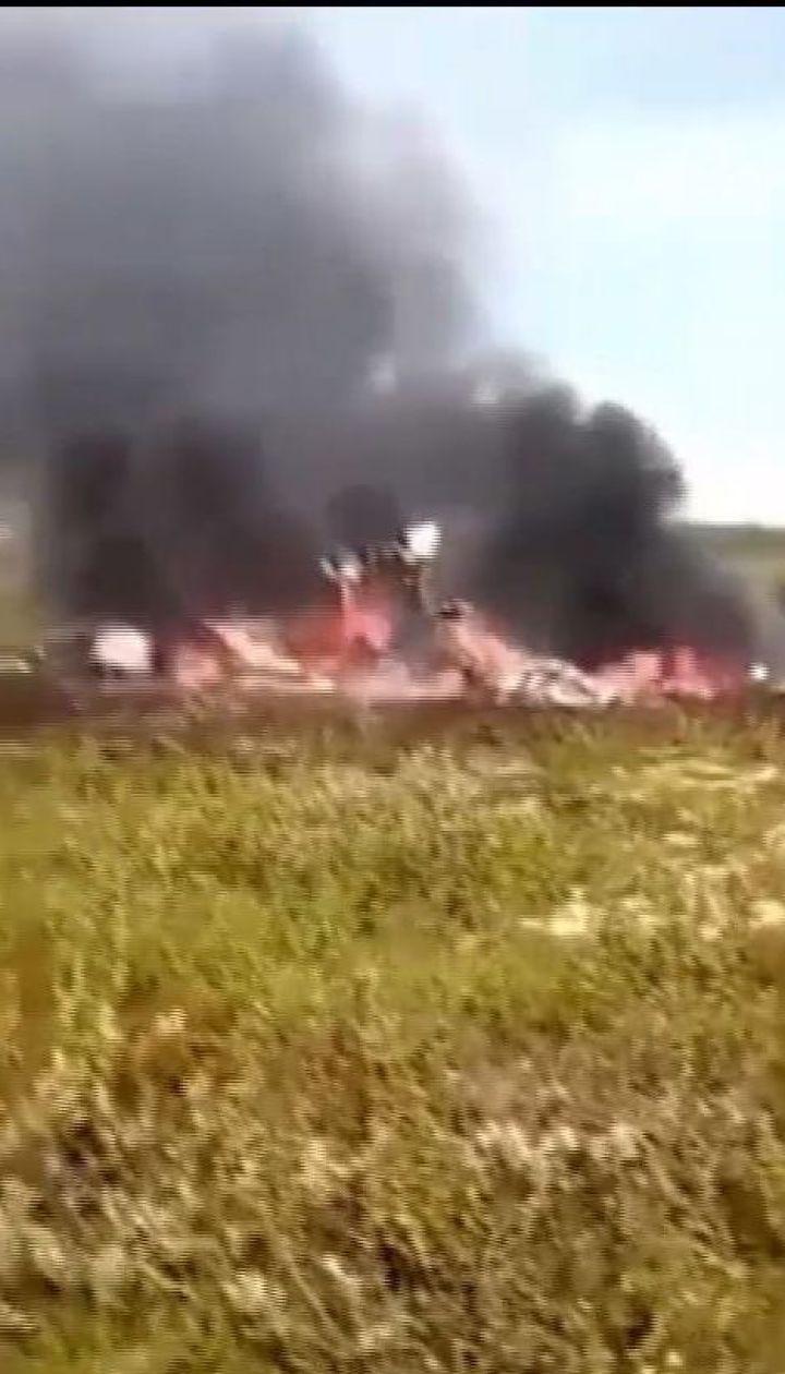 В Красноярском крае разбился вертолет с нефтяниками