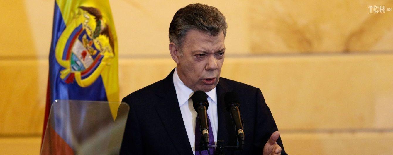 """В Колумбии назвали """"абсурдными"""" обвинения в причастности президента к покушению на лидера Венесуэлы"""