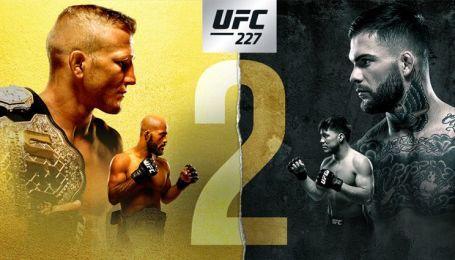 UFC 227. Диллашоу vs. Гарбрандт