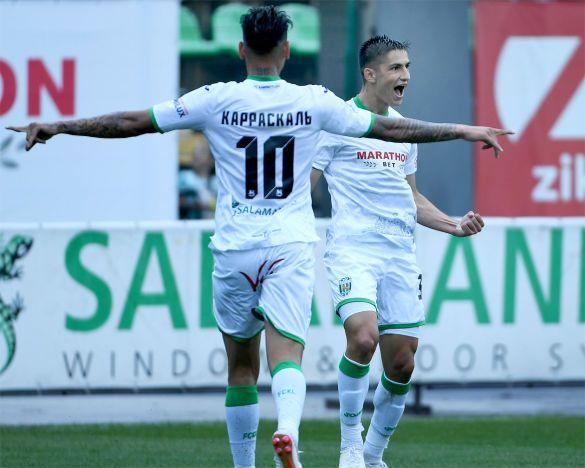 Радість футболістів Карпат