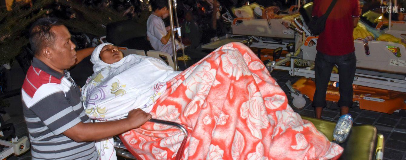 Чотири десятки осіб стали жертвами потужного землетрусу в Індонезії