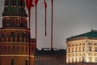 """Создатели сериала """"Карточный домик"""" опубликовали постер с Кремлем в крови"""