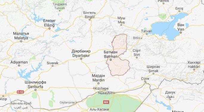 Провінція Батман Туреччина