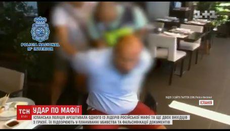 Испанская полиция арестовала одного из лидеров русской мафии и двух выходцев из Грузии