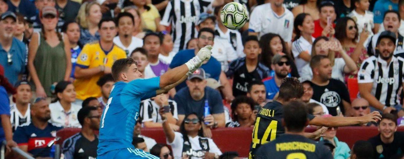 """Українець Лунін зробив два суперсейви у другому матчі за """"Реал"""""""
