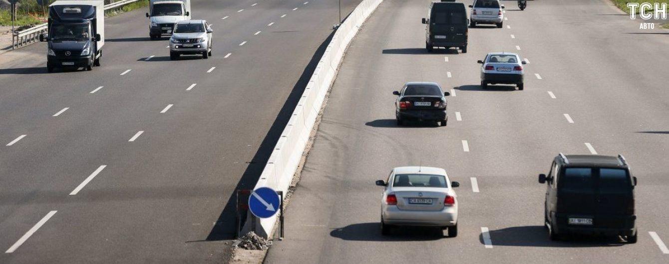 У Києві планують дозволити перевищення швидкості у лівій смузі руху