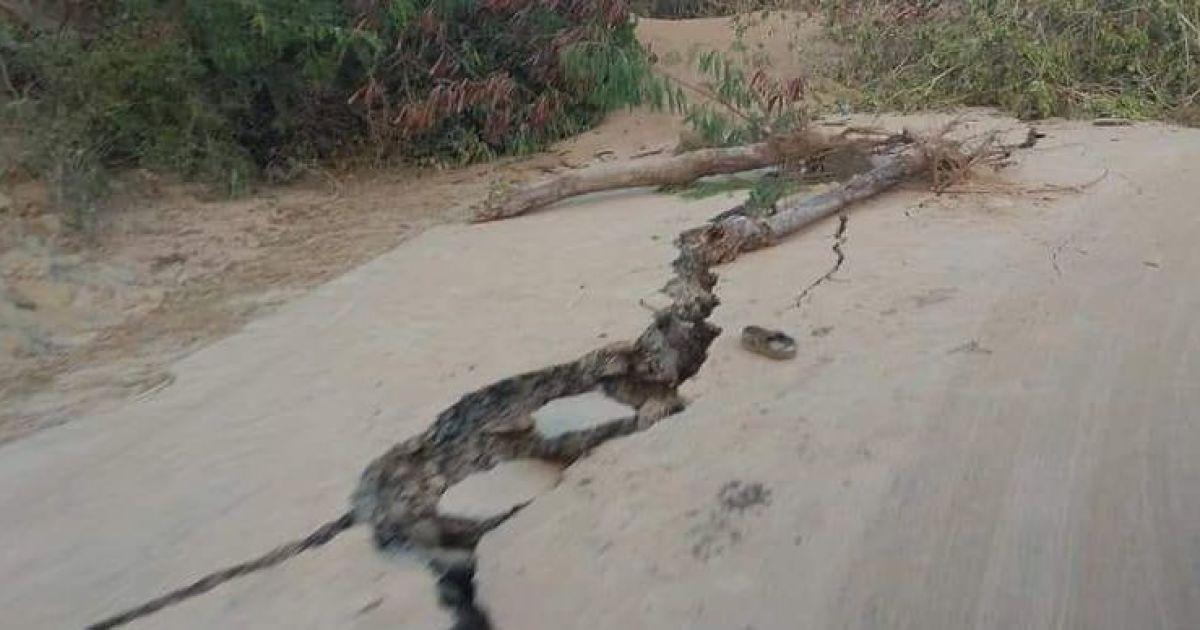 Разрушительные последствия землетрясения