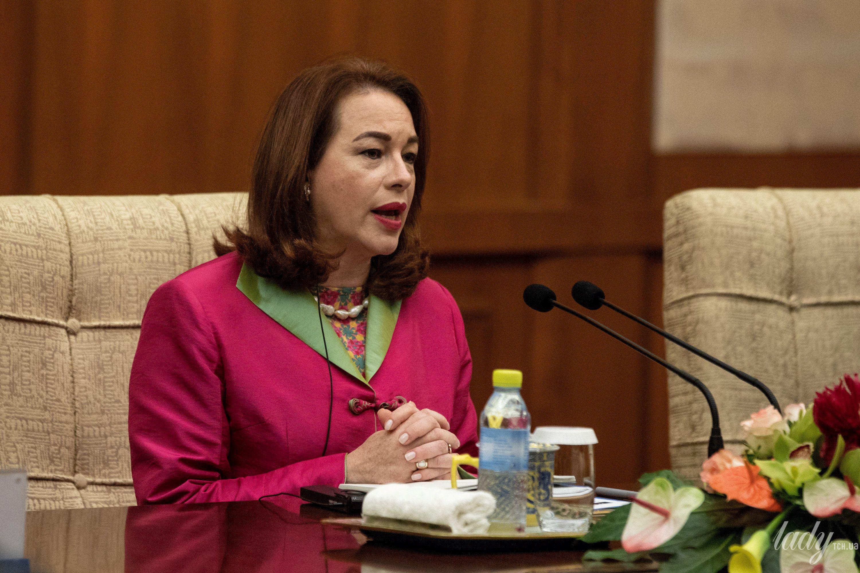Министр иностранных дел Эквадора Мария Фернанде Эспиноза Гарсес_3