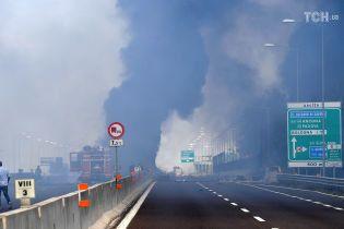 Біля аеропорту Болоньї стався потужний вибух