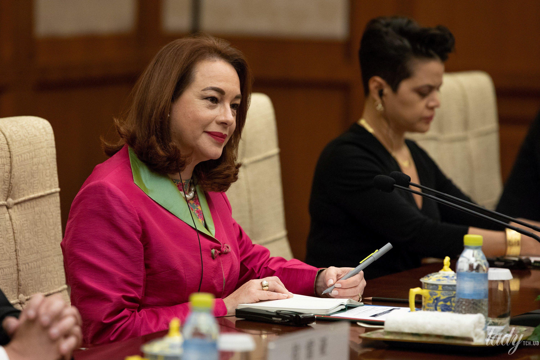 Министр иностранных дел Эквадора Мария Фернанде Эспиноза Гарсес_4