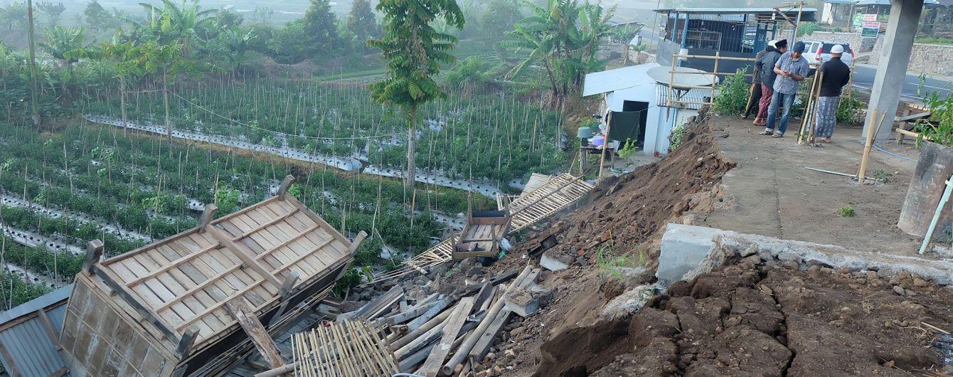 Очередное землетрясение сотрясло остров в Индонезии