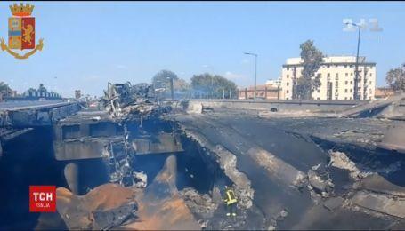 2 людини загинули і 60 дістали поранення внаслідок зіткнення двох вантажівок у Болоньї