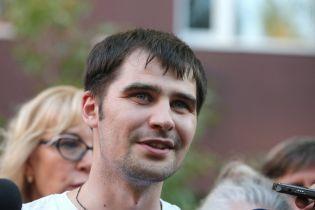 Звільнений із російської в'язниці політв'язень Костенко прибув до Києва