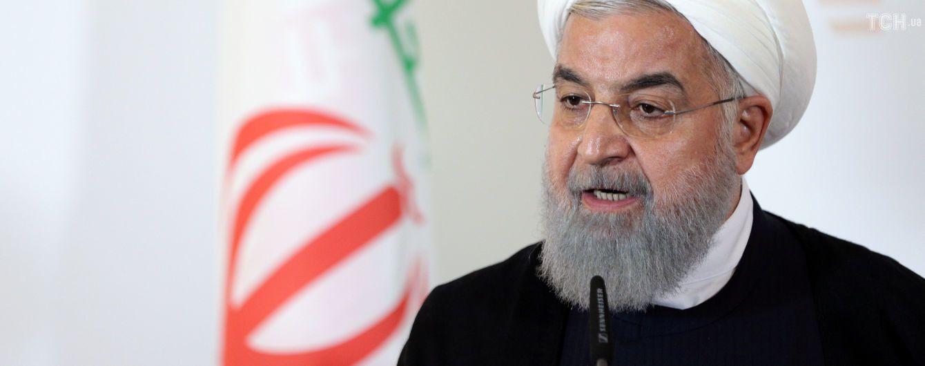 Президент Ірану передрік Трампу долю Хусейна