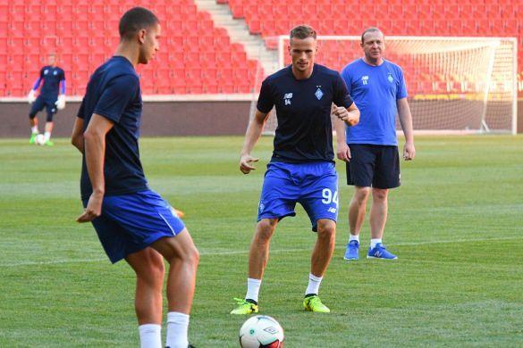 Тренування Динамо перед Лігою чемпіонів