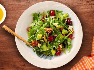 Салат з виноградом. Без майонезу