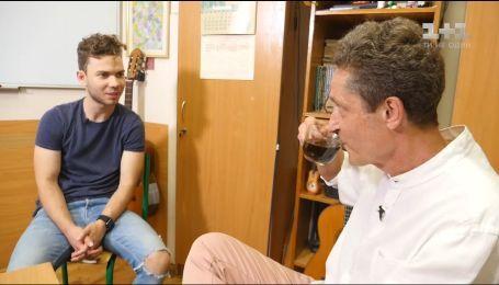 Співак LAUD зустрівся з своїм першим викладачем гри на гітарі – Володимиром Гуменюком