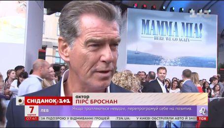 """""""Сніданок"""" побывал на премьере """"Мама Мия-2"""" в Лондоне"""