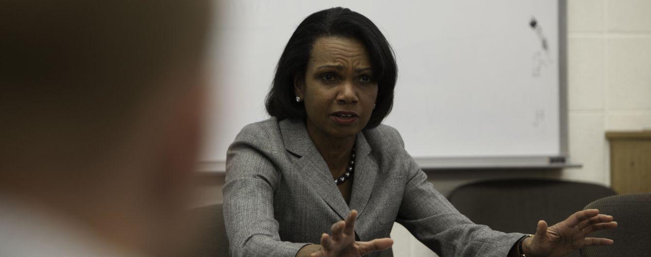 Экс-госсекретарь США рассказала об условиях Лаврова для прекращения войны РФ с Грузией