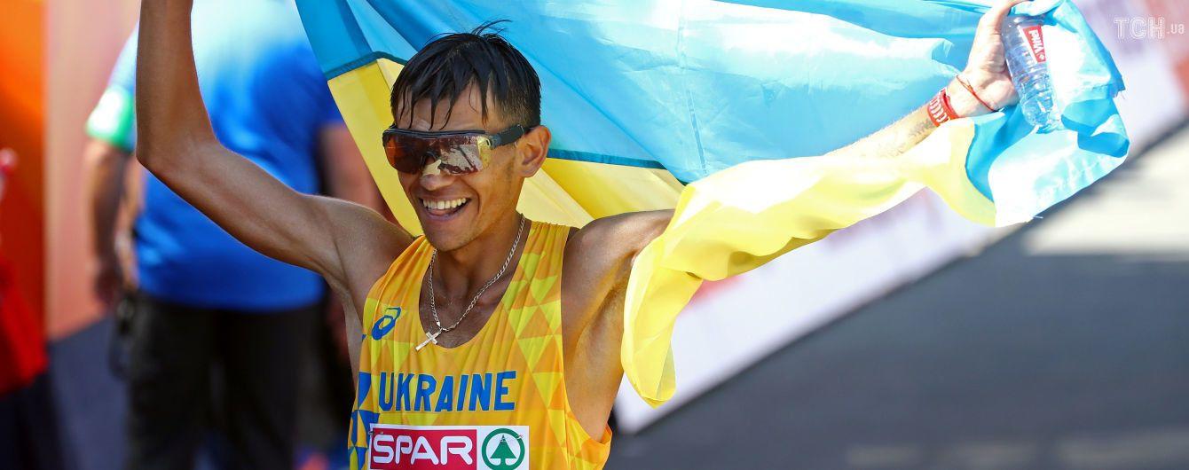 """Украина выиграла первое """"золото"""" на чемпионате Европы по легкой атлетике"""