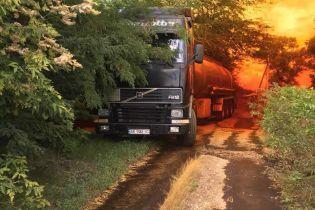 Каустична сода і вапно: на Дніпропетровщині впоралися із наслідками аварії з азотною кислотою
