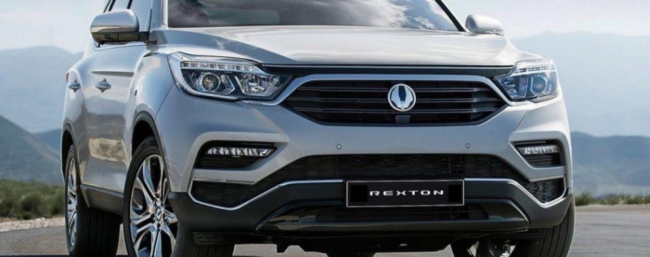 SsangYong расширяет рынки сбыта для нового поколения внедорожника Rexton