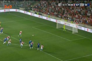 Славія – Динамо – 1:1. Відео голу Гушбауера