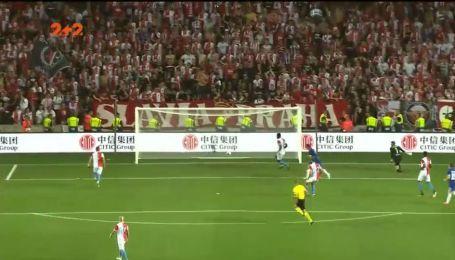 Славія – Динамо – 0:1. Відео голу Вербича