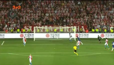Славия – Динамо – 0:1 Видео гола Вербича