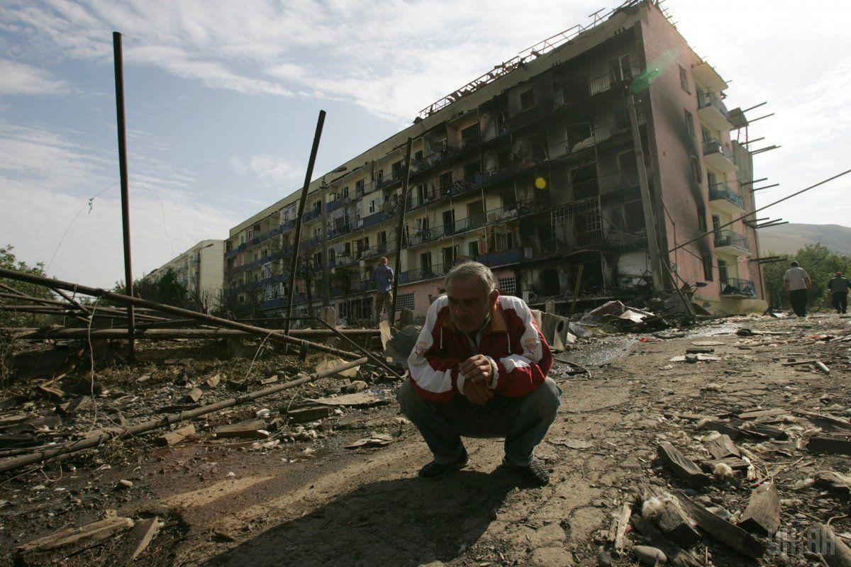 горі 2008 рік війна росія грузія