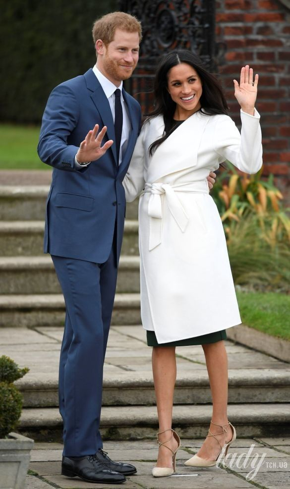 Герцогиня Сассекская и принц Гарри