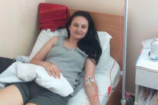 Олеся просит помочь ей побороть рак