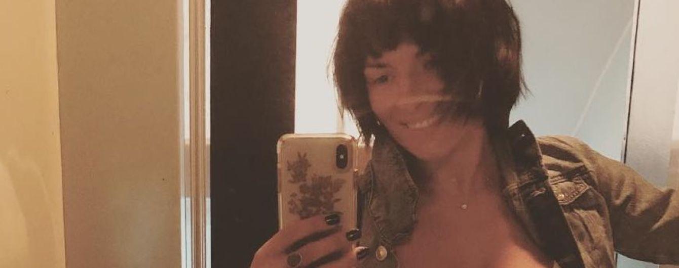 Засветила бюстгальтер: Надя Мейхер надела слишком обтягивающую майку