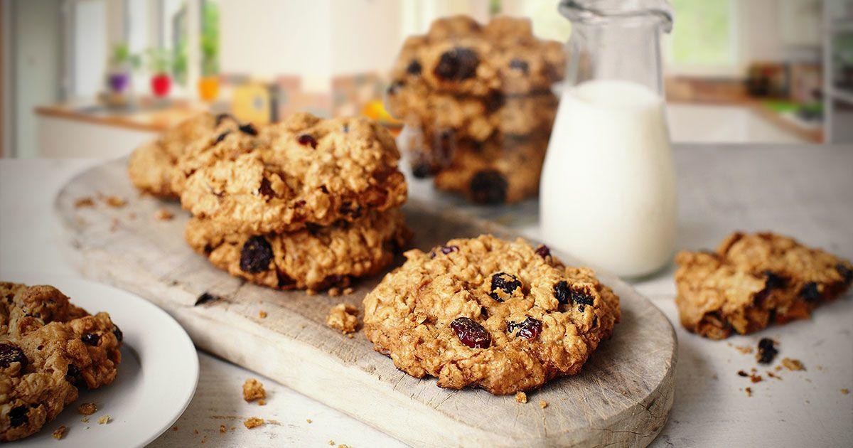 Вівсяне печиво з шоколадом за 30 хвилин
