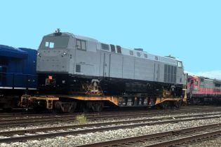 В Украину прибыла очередная партия локомотивов General Electric