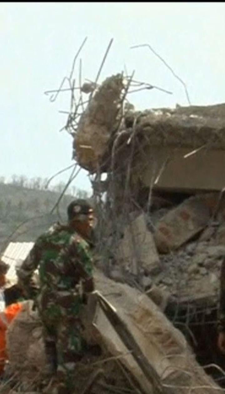 Возросло количество жертв землетрясения на индонезийском острове Ломбок