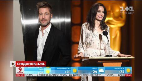 Анджеліна Джолі звинувачує Бреда Пітта в несплаті аліментів