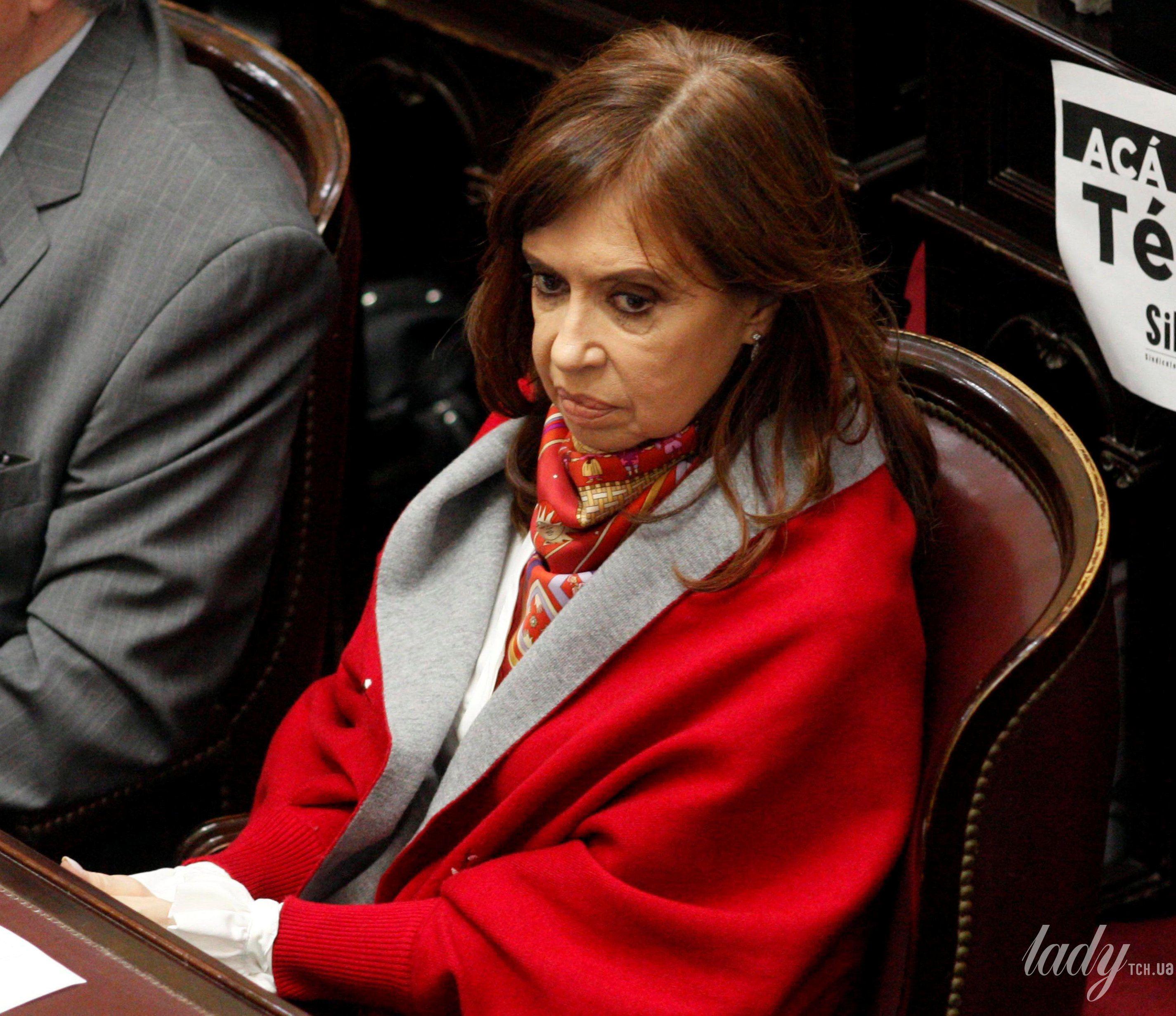 Бывший президент Аргентины Кристина Фернандес де Киршнер_2