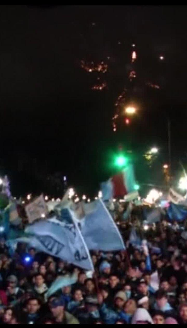 Рішення парламенту Аргентини не легалізувати аборти стало причиною сутичок з поліцією