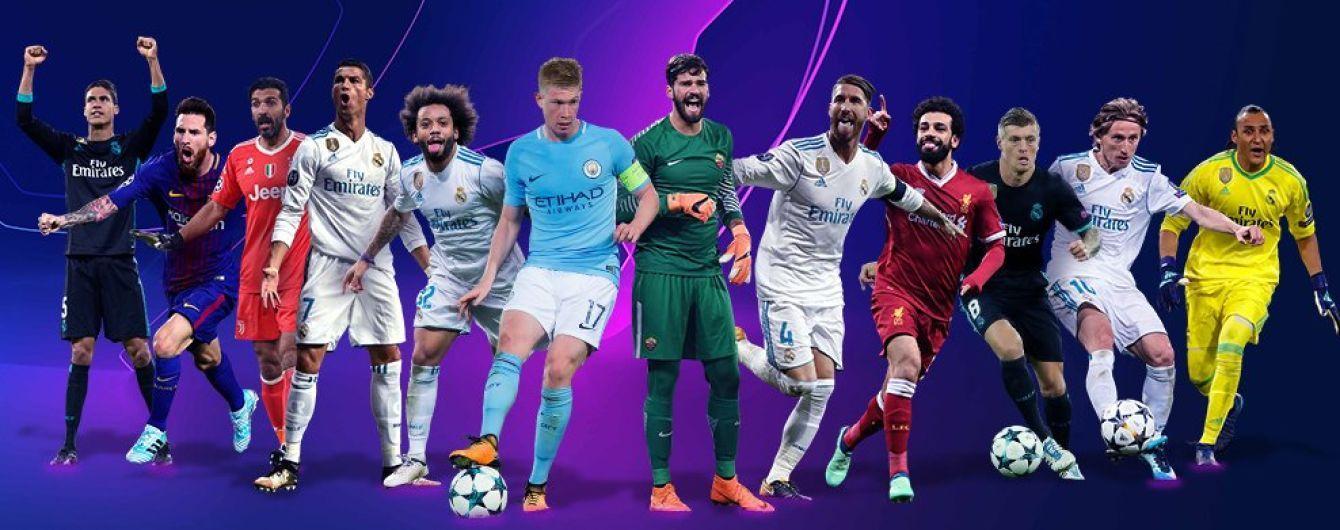 Названы претенденты на звание лучших игроков Лиги чемпионов-2017/18