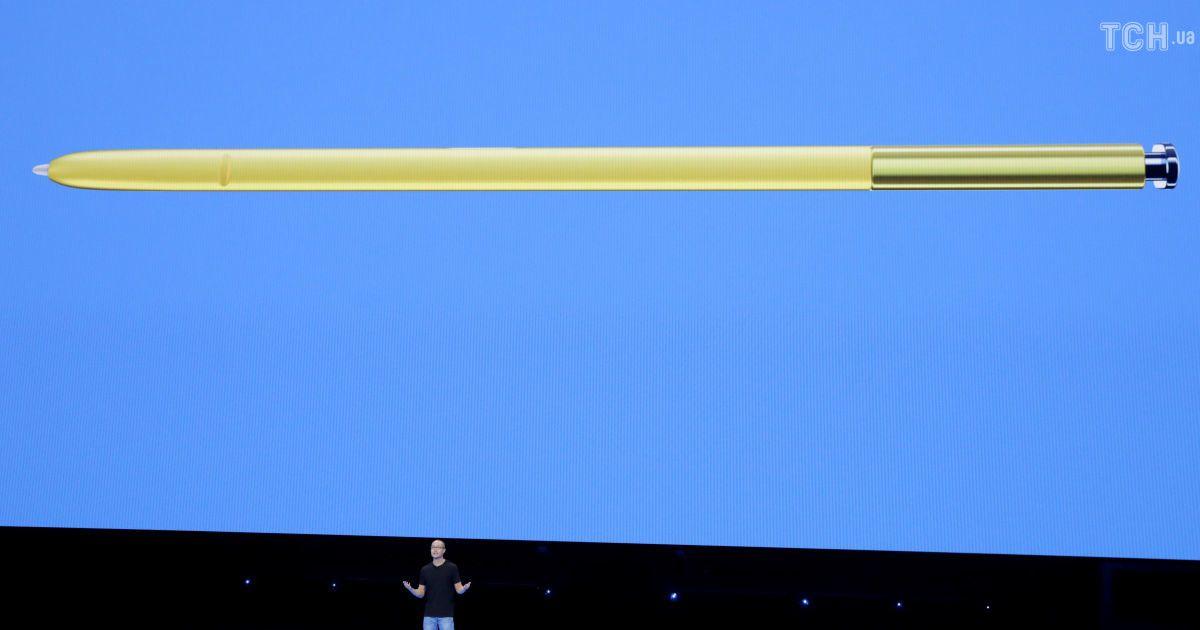 Потужна батарея, гра Fortnite і стілус нової серії: Samsung представила смартфон Galaxy Note 9