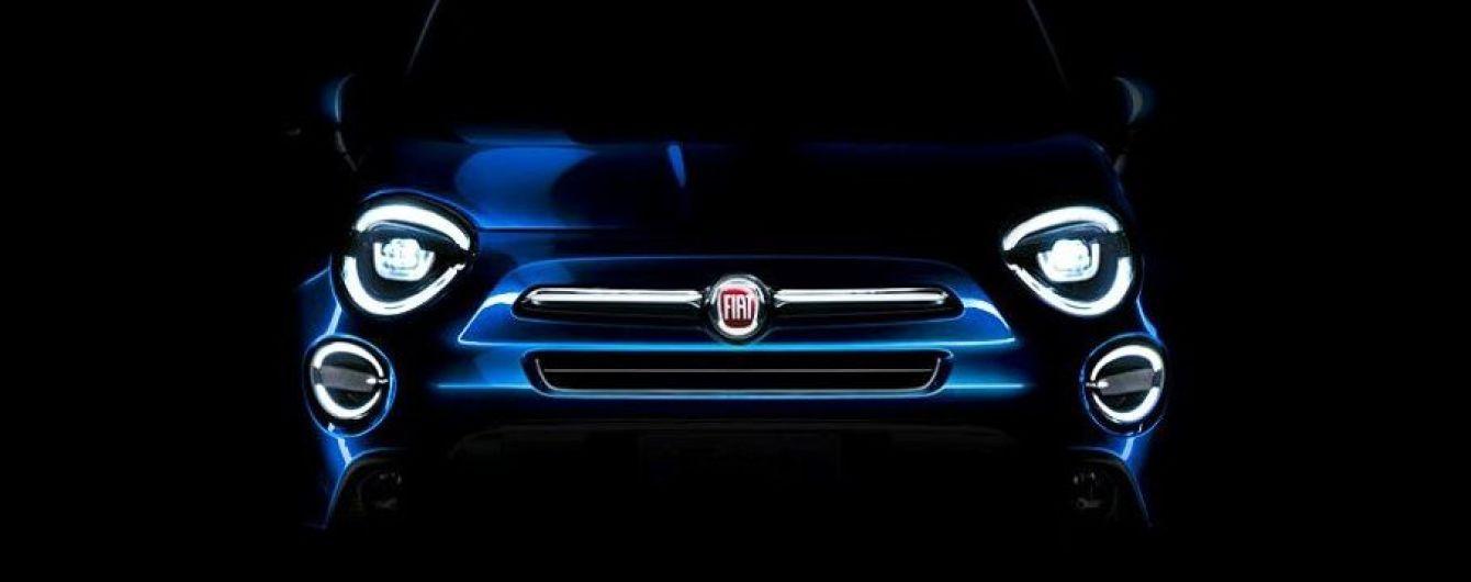 Fiat обновит свой компактный кроссовер 500Х