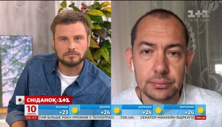 Остання інформація по справі Олега Сенцова - пряме включення з кореспондентом Романом Цимбалюком