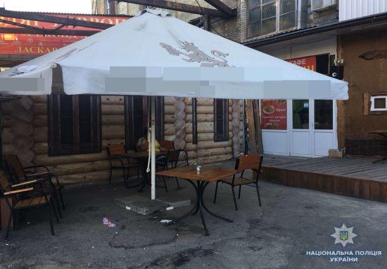 """У Києві біля автостанції """"в ямі"""" сталася бійка зі стріляниною"""