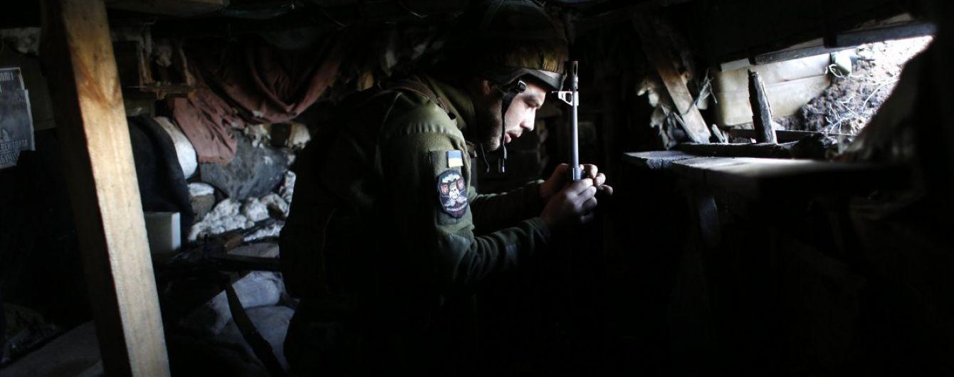В Рождество на Донбассе боевики четыре раза нарушили режим тишины, ранен украинский военный
