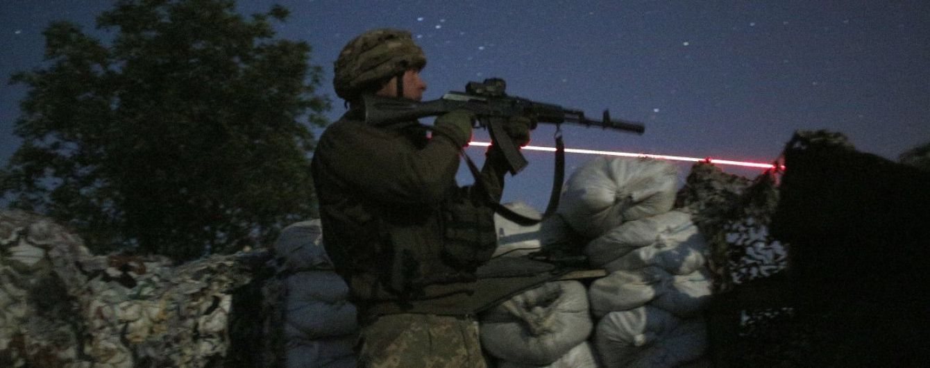 """Боевики из БМП и """"тяжелых"""" минометов обстреляли позиции украинских военных на Донбассе"""