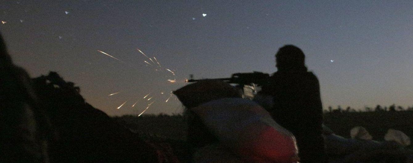 Боевики из 120-мм минометов обстреляли украинских военных на Мариупольском направлении