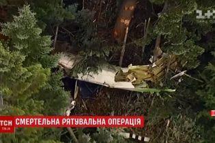 В Японии разбился вертолет с девятью людьми на борту